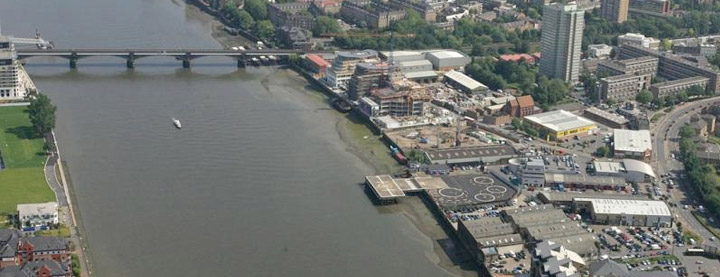 Battersea Heliport pick up and drop off service